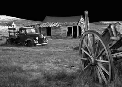 Bodie Ghost Town Old Truck