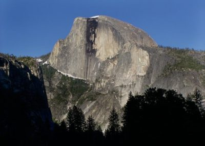 Half Dome in Shadow